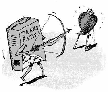Việt Nam lúc này vẫn chưa có quy định dán nhãn trans fat, chưa có chính sách khuyến khích các nhà chế biến giảm trans fat trong sản phẩm của họ