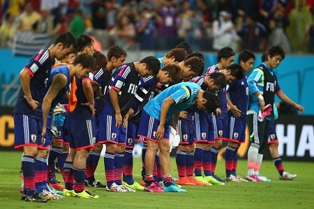 Đội tuyển Nhật cúi đầu xin lỗi người hâm mộ sau trận đấu