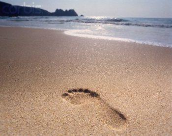 Những bước chân tiếp cận được với mặt đất là những khoảng thời gian mình tiếp xúc được với chính mình