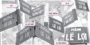 Tên đường Lê Lợi được đặt trong 5 khu vực của Tp HCM