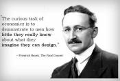 Friedrich Hayek.