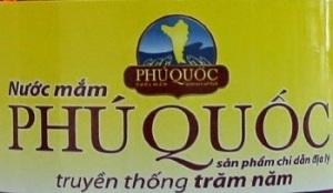 Nhãn chỉ dẫn địa lý nước mắm Phú Quốc