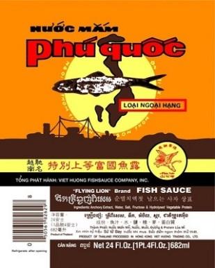 Nước mắm Phú Quốc, made in Thailand