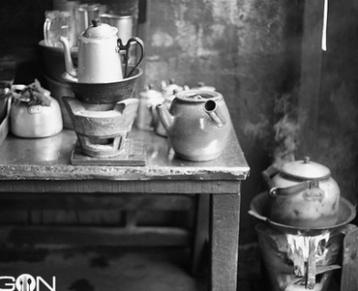 Cà phê vớ ở Sài Gòn